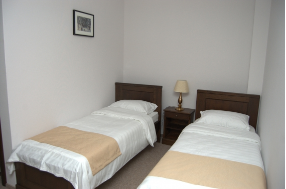 Double room (No. 6) with private bathroom